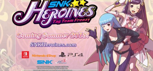 SNK HEROINES at WNF We're excited to announce a special preview of SNK HEROINES at Weds Night Fights. On March 21, NIS America is bringing a demo build of SNK […]