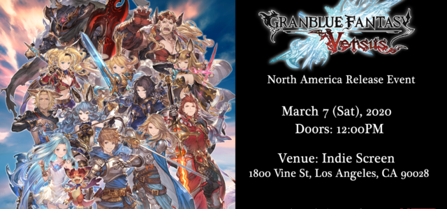 Granblue Fantasy: Versus x WNF Launch Tournament Granblue Fantasy: Versus North American release is finally here and we are excited to host a launch tournament at Weds Night Fights on […]